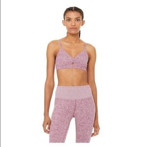 Alo Yoga Alosoft Lounge Sports Light-suppo Bra L